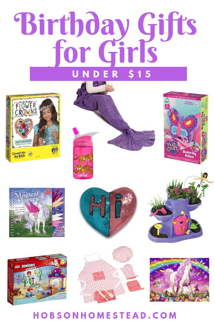 Here Are 10 Last Minute Birthday Gifts For Girls Under 15 That You Can Order From Amazon Prime Two Day Delivery Birthdaygifts Giftsforgirls