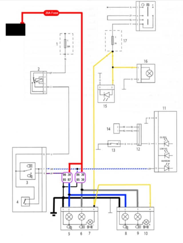 triumph street triple wiring diagram 675 speed triple