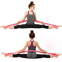 PREMIUM EXERCISE Ballet Stretch Band For Dance, Gymnastics. Improves FLEXIBILITY, STRETCHING and Helps PREVENT INJURY.!