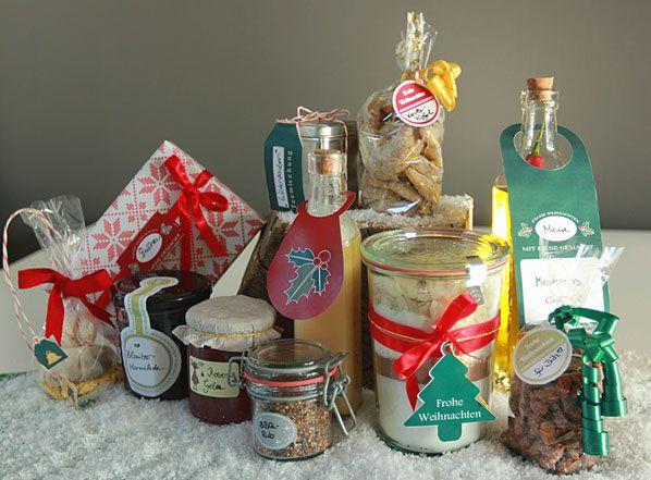 Geschenke aus der Küche - 40 kreative Rezepte für vielfältige Leckereien aus der Küche wie Pralinen, Gewürze, selbst zusammengestellte Backmischungen, Plätzchen, Gewürzöl, Likör u.v.m.