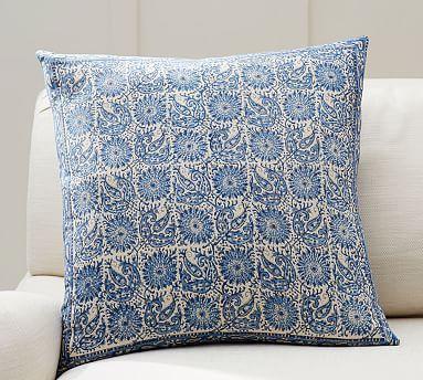 Aida Block Print Pillow Cover