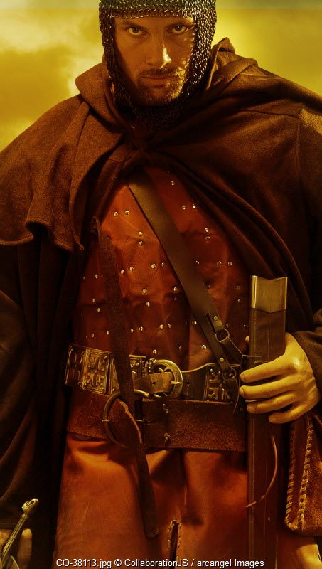 A medieval  knight © collaborationjs / Arcangel Images