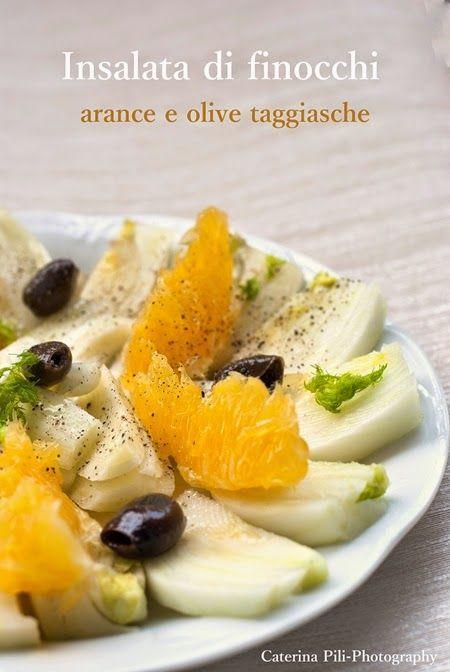 Insalata di finocchi arance e olive taggiasche