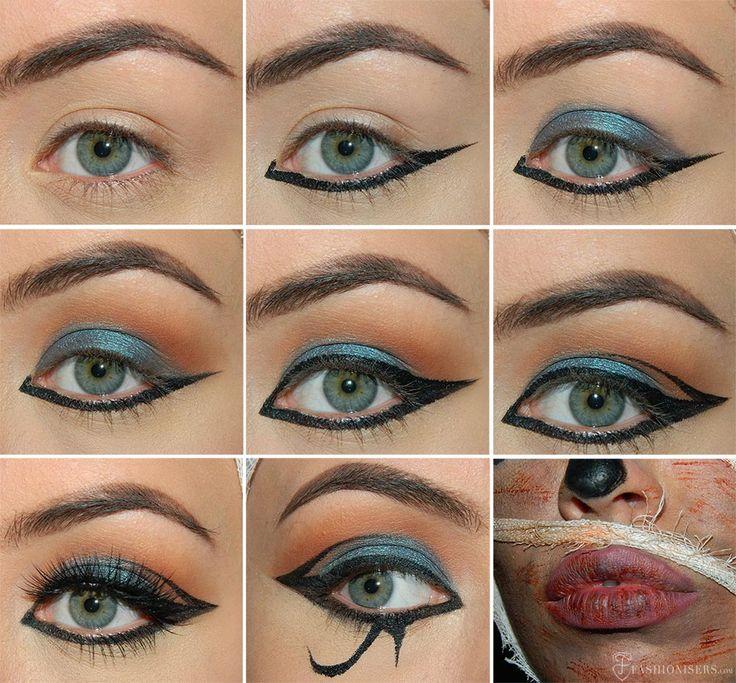 The 25+ best Egyptian makeup ideas on Pinterest | Cleopatra makeup ...