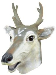 Adult Stag Fancy Dress Mask