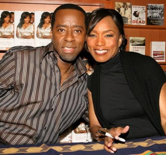 Angela Bassett and Courney B. Vance