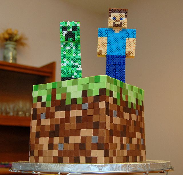 Minecraft Cake Flickr - Photo Sharing! I
