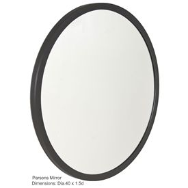 Parsons 40 Round Mirror By Charleston Forge At Timeless Wrought Iron