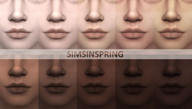 Phenomenal Cool Skintones By Simsinspring At Mod The Sims