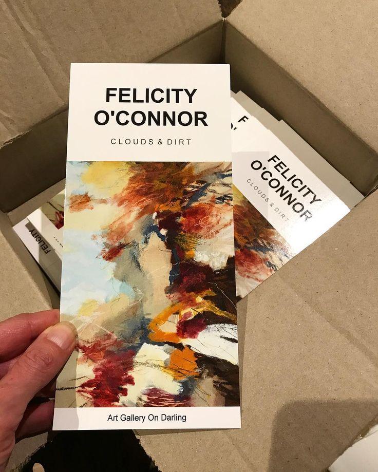 Arrived!!! #invitations #nextshow #openthebox #artgalleryondarling  @artgalleryondarling