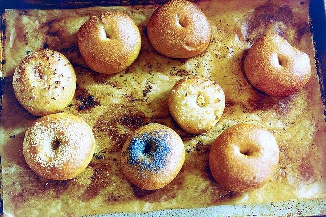 Peter Reinhart's bagels by smitten, via Flickr