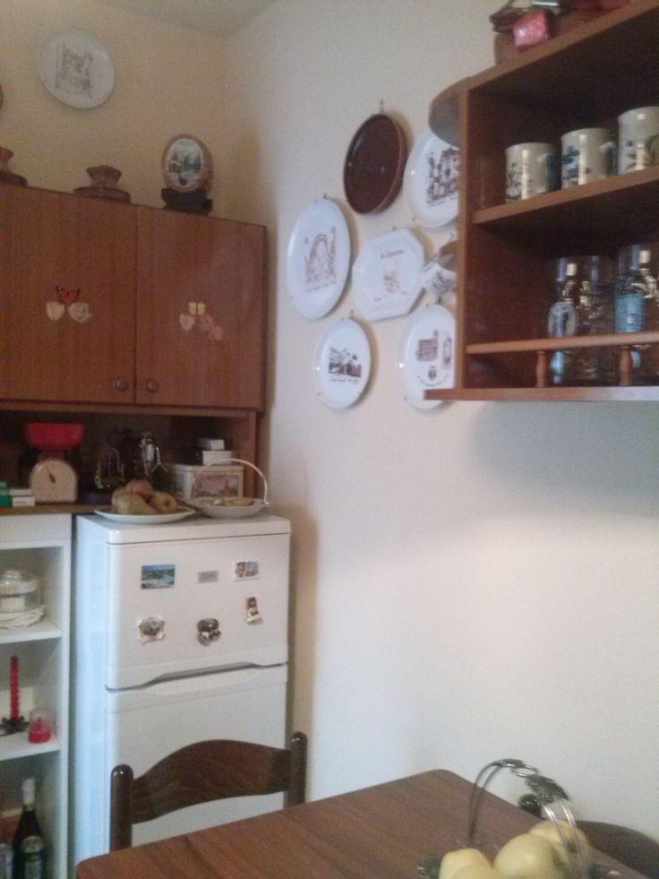 Una cucina anni 70