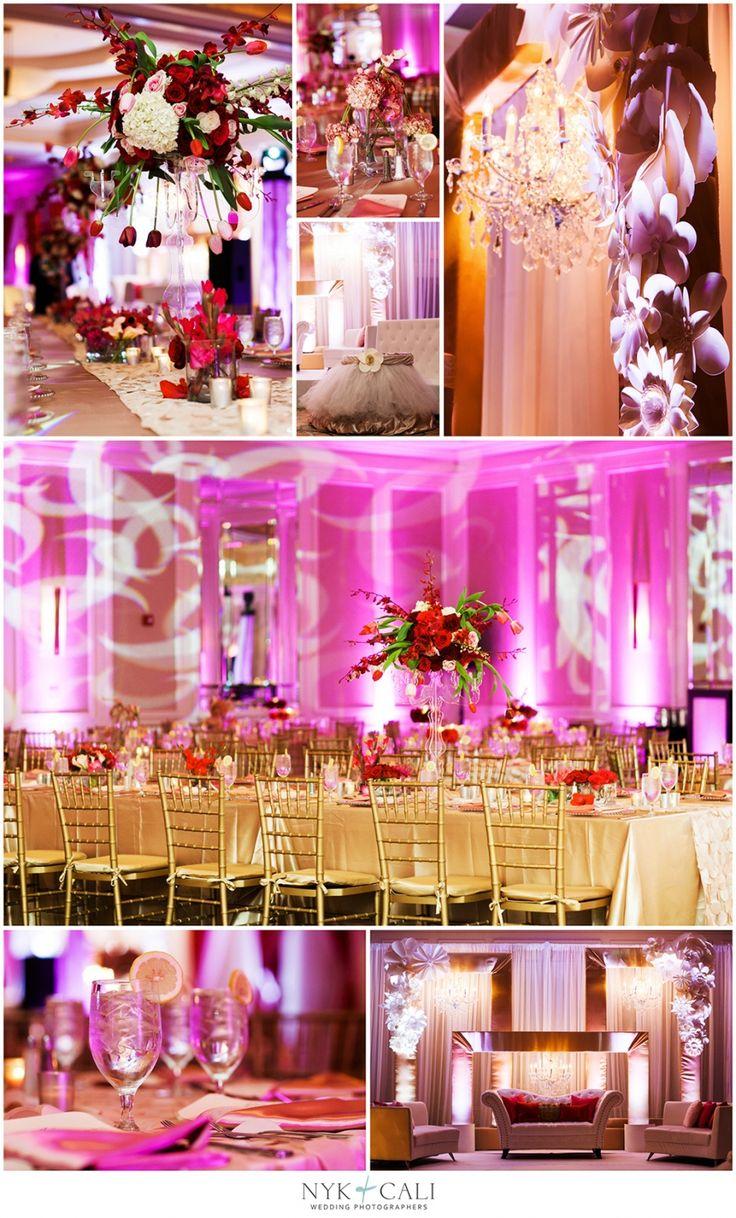 Nyk + Cali, Wedding Photographers   Nashville, TN   South Asian Wedding Photography   Pakistani   Shaadi   Celebration   Downtown Hilton Hotel   Hindu Ceremony   Red & Pink   Details