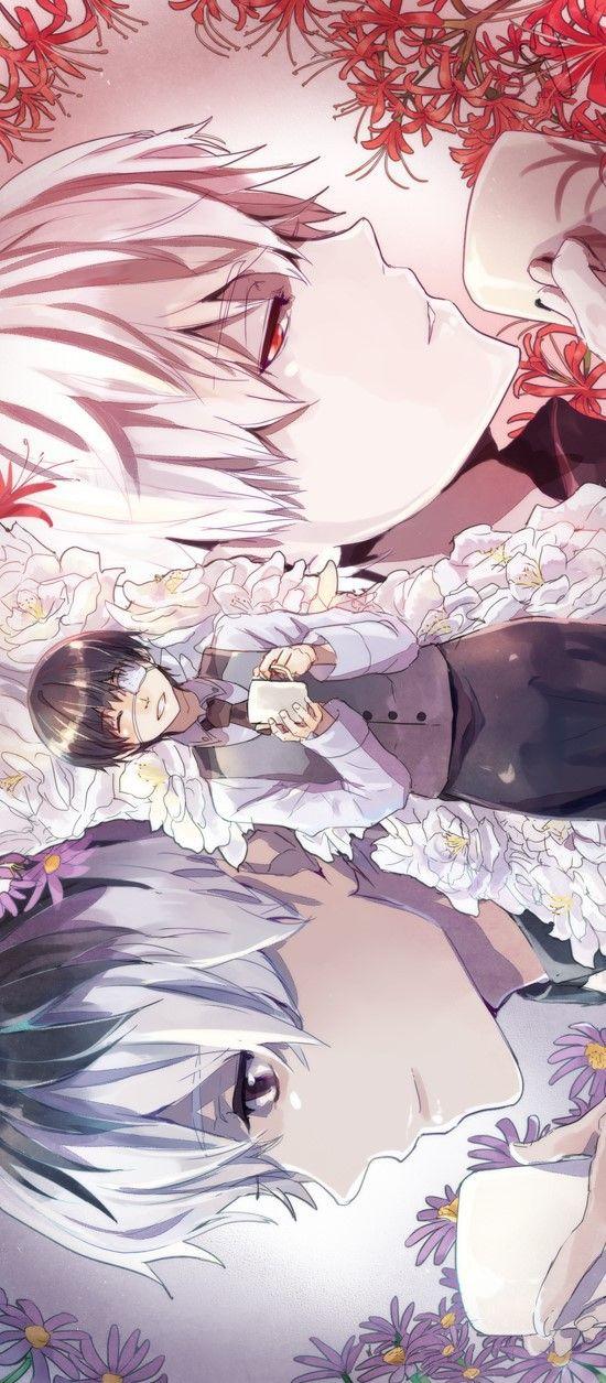 Ken Kaneki/Haise Sasaki || Tokyo Ghoul #tg #tokyoghoul #anime #manga #plusultra