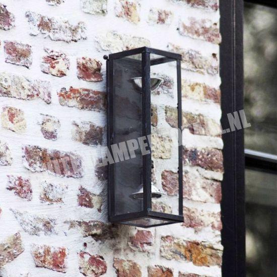 Authentage Landelijke wandlamp Vitrine Up&Down Marron goedkoop op BuitenverlichtingOutlet.nl