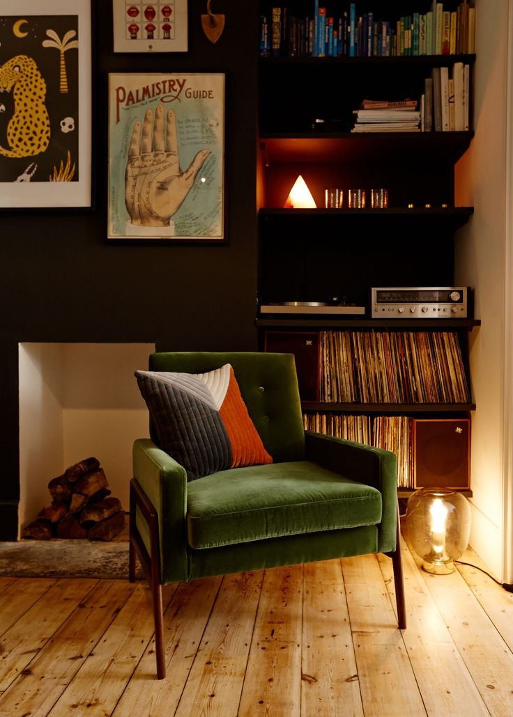 How to create a Mid-century-inspired living room
