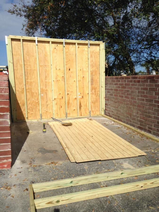 New storage shed. by Angelo