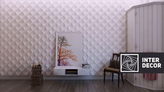 Наши высокопрочные 3D панели сочетаются с различными элементами декора, имеют бесшовное соединение и целостность рисунка со сроком службы до 100 лет.