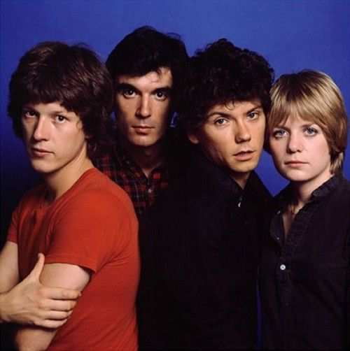 Talking Heads were an American new wave band formed in 1975 in New York City[1] and active until 1991. The band comprised David Byrne (lead vocals and guitar), Chris Frantz (drums and backing vocals), Tina Weymouth (bass and backing vocals) and Jerry Harrison (keyboards, guitar, and backing vocals).