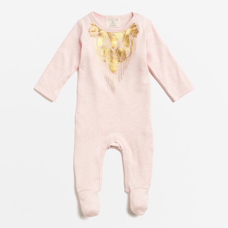 Willows Children's Boutique | Precious Little Growsuit | By Wilson & Frenchy | Baby Girls Clothing | Online Baby Boutique