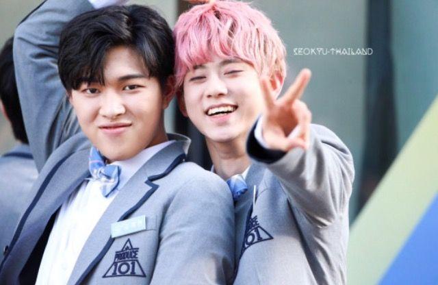 (His name has slipped my mind) and Seokyu