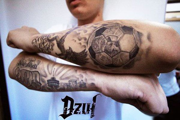 Neueste Und Beste Fussball Team Tattoos Bestefussballteam
