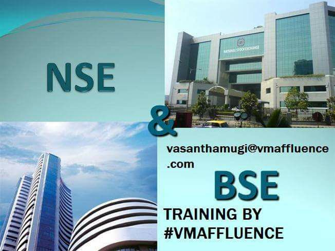 Know more about trading #VMAFFLUENCE Training on Trade #NSE(National Stock Exchange)  #BSE(Bombay Stock Exchange) From our renowned trainer. #4hours training. Sunday 5th March 2017. Training charge 5000 Rs/- ; For more information on the training contact vasanthamugi@vmaffluence.com