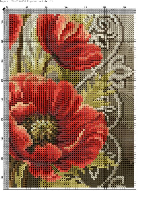 Poppies and Swirls-004 (494x700, 609Kb)