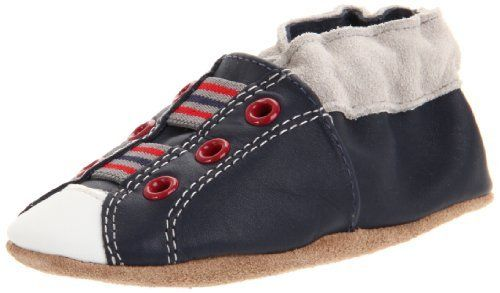 Robeez Soft Soles Dashing Dustin Boot (Infant/Toddler/Little Kid),Navy,0-6 Months (1-2 M US Infant) Robeez. $17.99