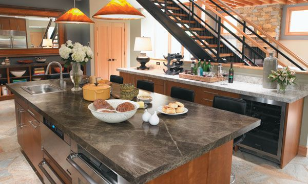 A Guide To Concrete Kitchen Countertops Remodeling 101: 101 Best Images About Island Inspiration On Pinterest