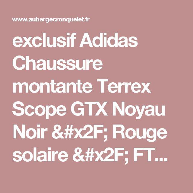 exclusif Adidas Chaussure montante Terrex Scope GTX Noyau Noir / Rouge solaire / FTWR Blanc (M29097) - Hommes Outdoor dégagement [aub-shoes-fr100195]€81.21 : www.aubergecronquelet.fr