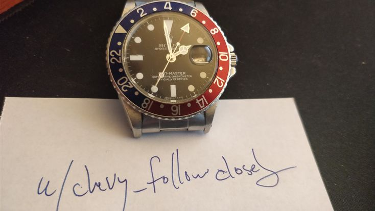 [1964 Rolex GMT Master] Im submitting this because my gif link isnt great but it is a great watch. via /r/Watches