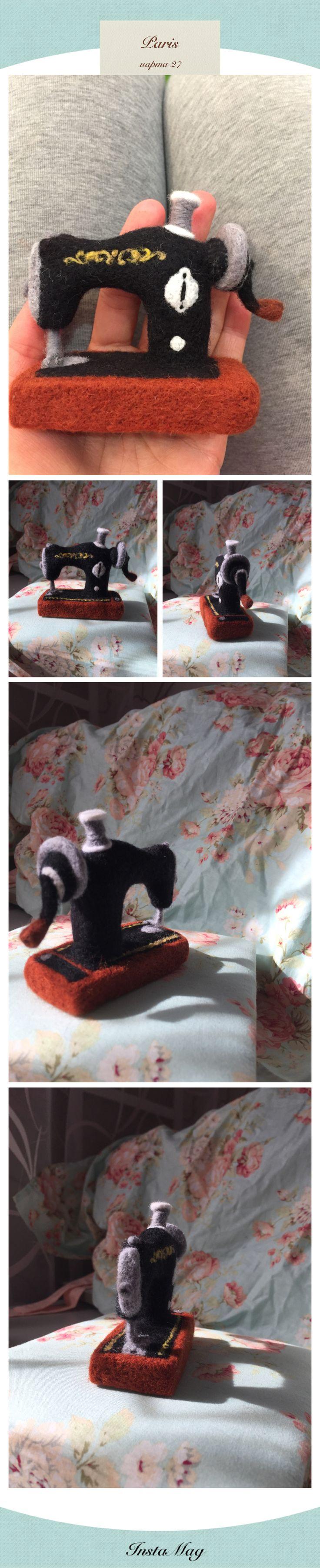 Швейная машинка миниатюра