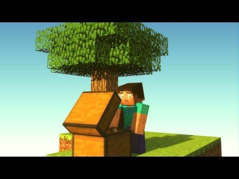 Experiencing SkyBlock - Minecraft Animation - YouTube