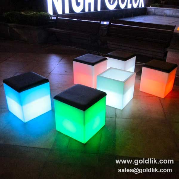 Modern Led Cube Chairs,40cm Led Cube Chair Led Cube Bar Stool ,pls Contact Home Design Ideas
