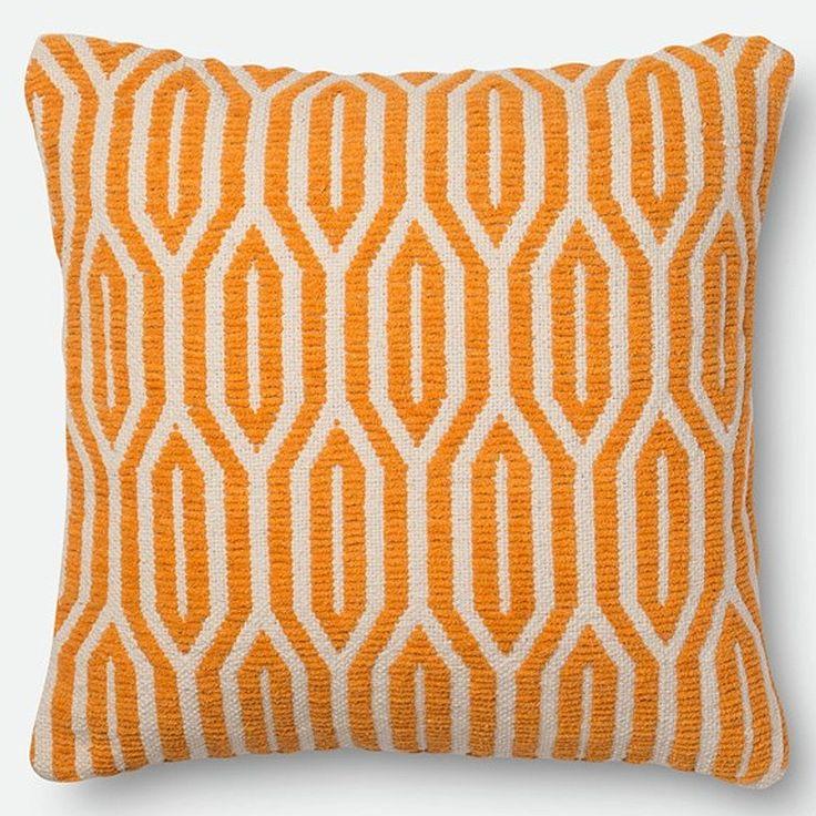 loloi pillow orange