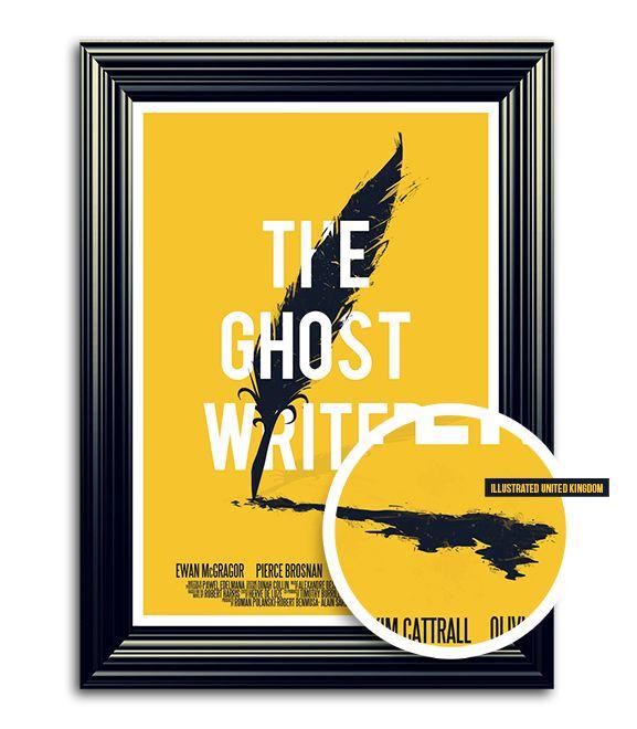 The ghost writer X A'dam film week by Fabian De Lange, via Behance