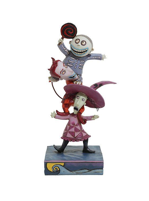 The Nightmare Before Christmas Lock Shock & Barrel Figurine,