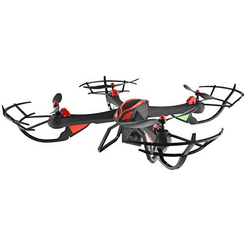 cool DAS X4 Venom Large RC Quadcopter Drone with HD Camera, GoPro Mount, Altitude Hold, Headless Mode, One-Key Return, 2.4GHz 4 CH 6 Axis Gyro with Extra Battery