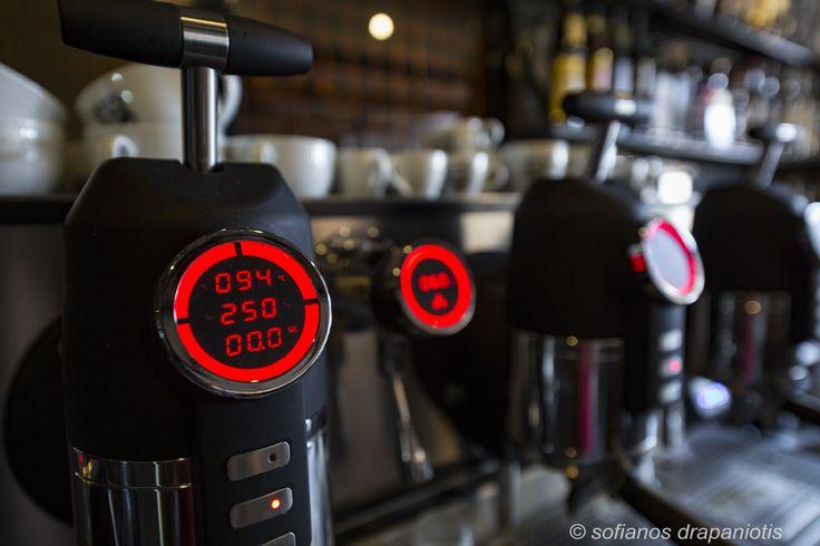 San Remo Opera coffee machine. Proud of it! :-)