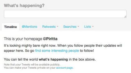 Mikä Twitter? Miten sitä pitää käyttää? Miksi tviitit vilisevät merkkejä kuten @ ja RT? Aktiivisesti ja oikein käytettynä Twitteristä voi saada paljonkin irti, niin järjestönä kuin henkilönä. Tässä sinulle neljä perusohjetta Twitterin käyttöön.
