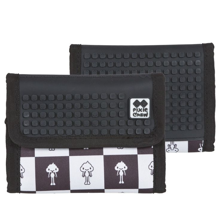 PIXIE CREW Wallet KAKI/BLACK