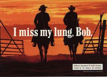 Funny old anti-tobacco / smoking ad