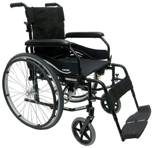 Karman Ultra Lightweight Wheelchair with Quick Release Axles in 18 inch Seat Width <3 Click the image for detailed description http://www.amazon.com/gp/product/B008YX2SFU/?tag=buyamazon04b-20&p9j=260217064342