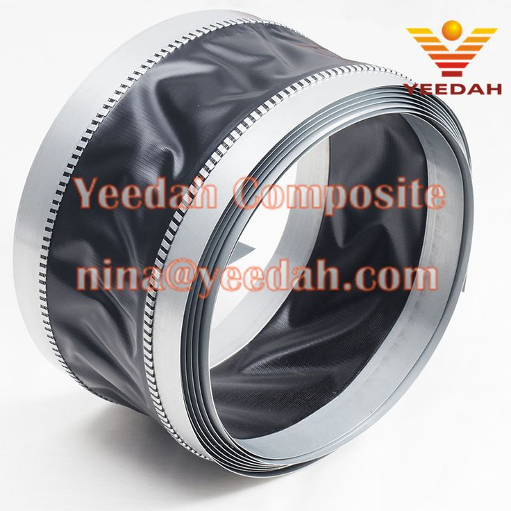 45 75 45mm Pvc Coated Polyester Fabric Pvc Duct Connector