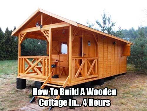 ideas about Wooden Cottage on Pinterest Cottages