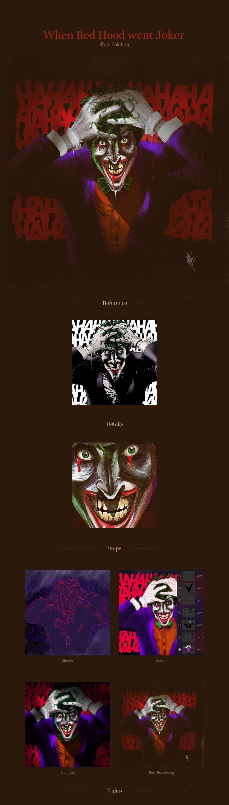 Red Hood Gone Joker - Illustration on Behance