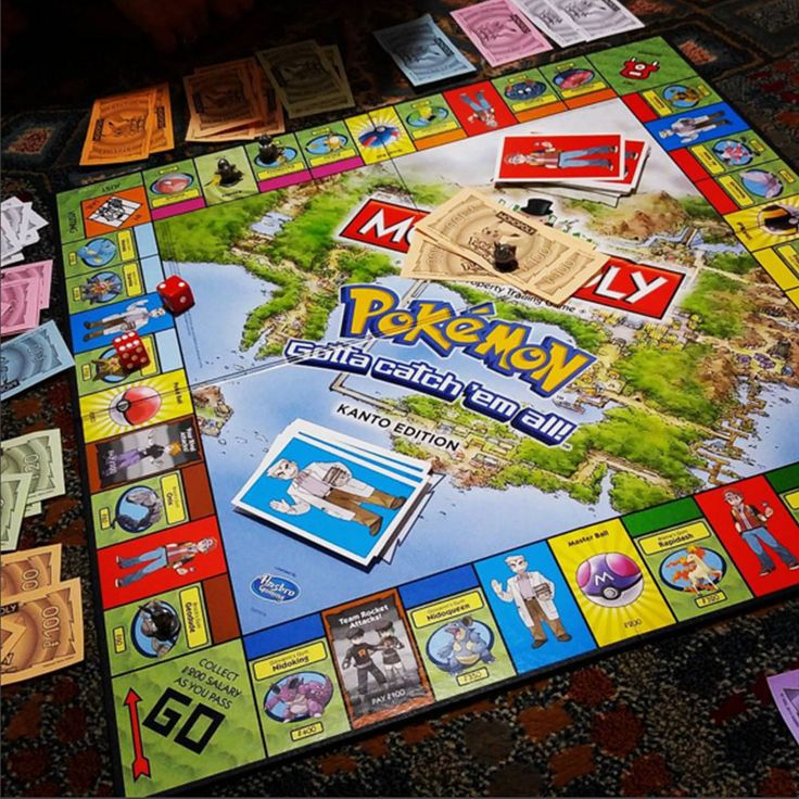 Pokemon monopoly, I have the johto league one