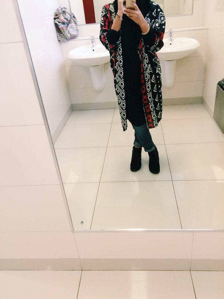 #kimono #friday #campus #style #hijab #modest