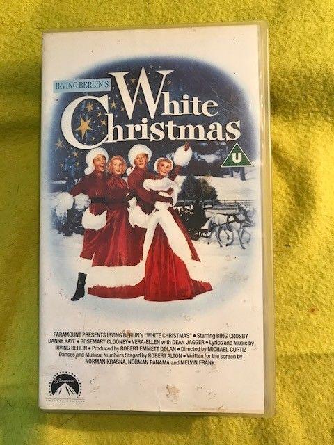 Irving Berlin s White Christmas - VHS Video Tape Cassette - Bing